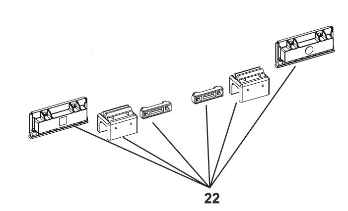 Magnethalter für FAAC 740/741