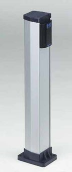 Alu-Säule einfach für Lichtschranke XP30