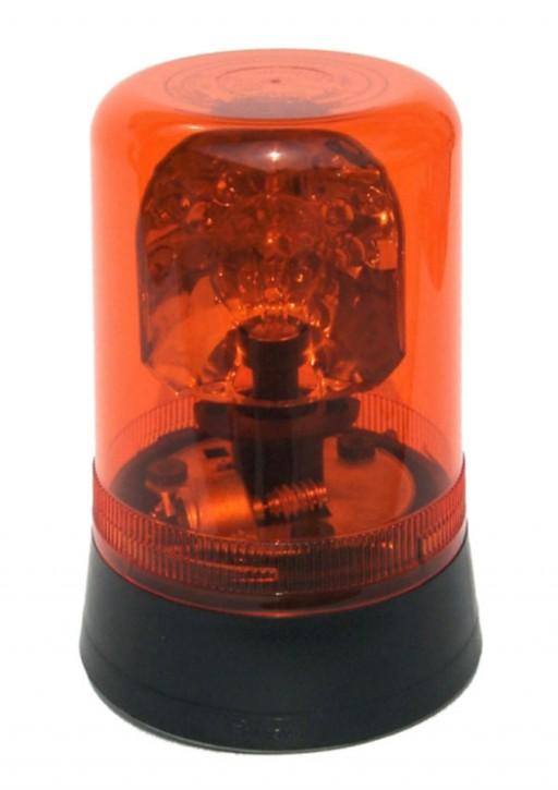 Drehspiegelleuchte orange, Halogen