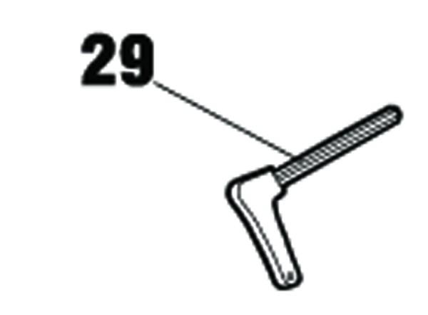 Notentriegelungsschlüssel für FAAC 390