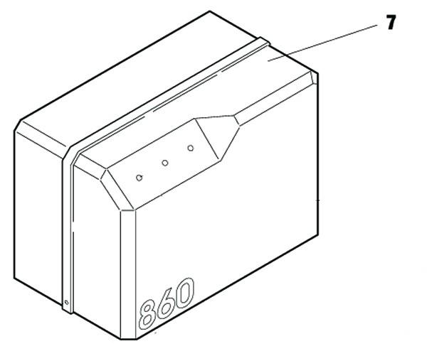 Ersatzteile FAAC 820/860