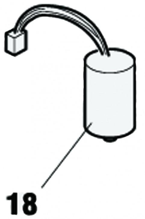 Kondensator 35µf 250Vac - Steckbar