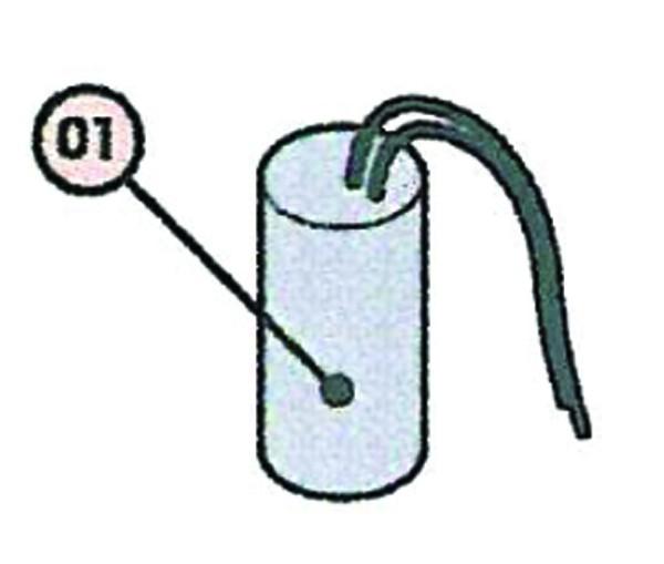 Kondensator 6,3 µF für FAAC 411/413