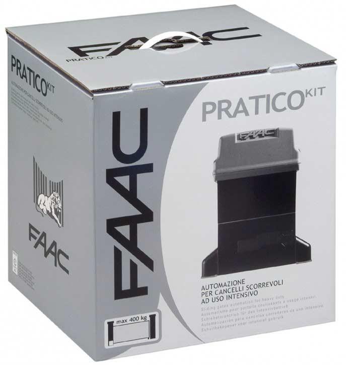 PRATICO Kit incl. 3 x Handsender