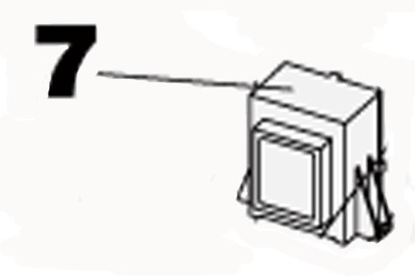 Transformator 230/0-19 VA zu Steuerung 780D