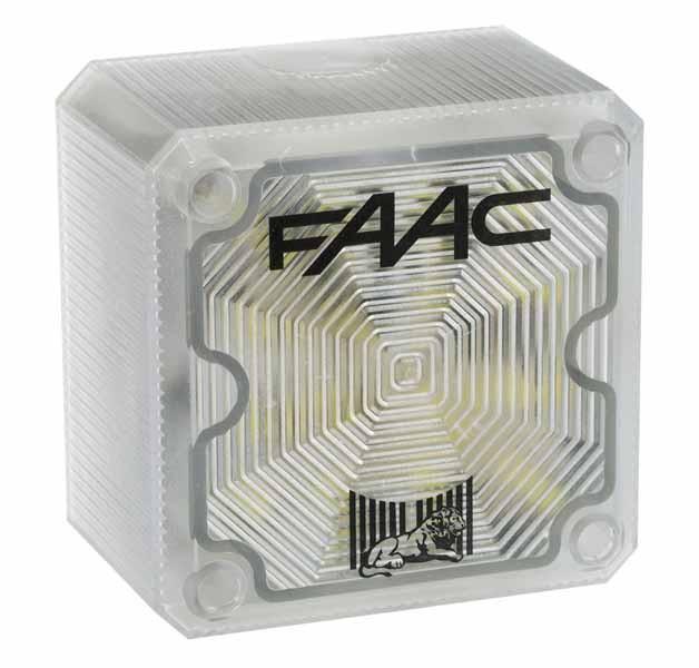 Blinklampe für Garagentorantrieb FAAC D600 / 1000