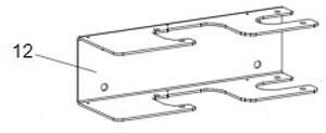Montagehalterung FAAC 390
